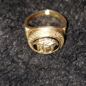 Versace Accessories - Gold ring